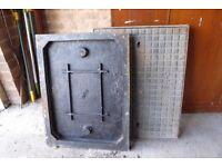 cast iron man hole covers