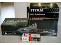Titan Chainsaw 2000w - brand new