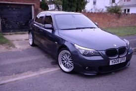 BMW 520D Saloon with MSPORT original front bumper 2008 - well looked after