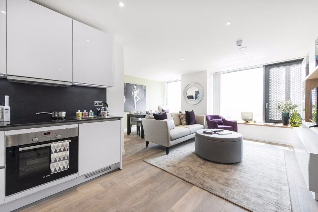 FLAWLESS 1BED FLAT AVAILABLE IN THE ICONIC VANTAGE POINT DEVELOPMENT!!