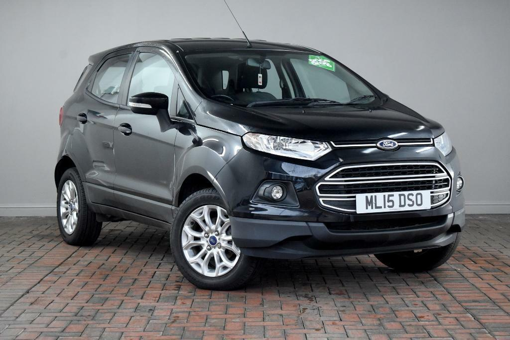 Ford Ecosport  Dr Parking Sensors Bluetooth Sync Black