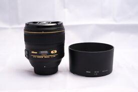 Nikon 85mm 1.4G