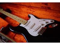 Fender American artist series Stratocaster - Eric Clapton 'Blackie'