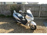 Suzuki AN 400 X only 23500mls