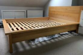 Quality Marks & Spencer Wooden King Size Bed Frame Good Condition Delivery Possible