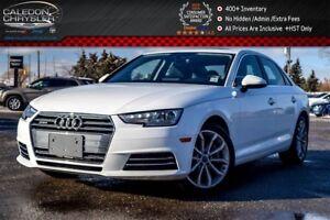 2017 Audi A4 Progressiv Quattro Navi Sunroof Backup Cam Bluetoo