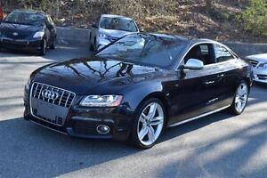 2008 Audi S5 6 SPD -- V8 -- BLACK ON BLACK LEATHER