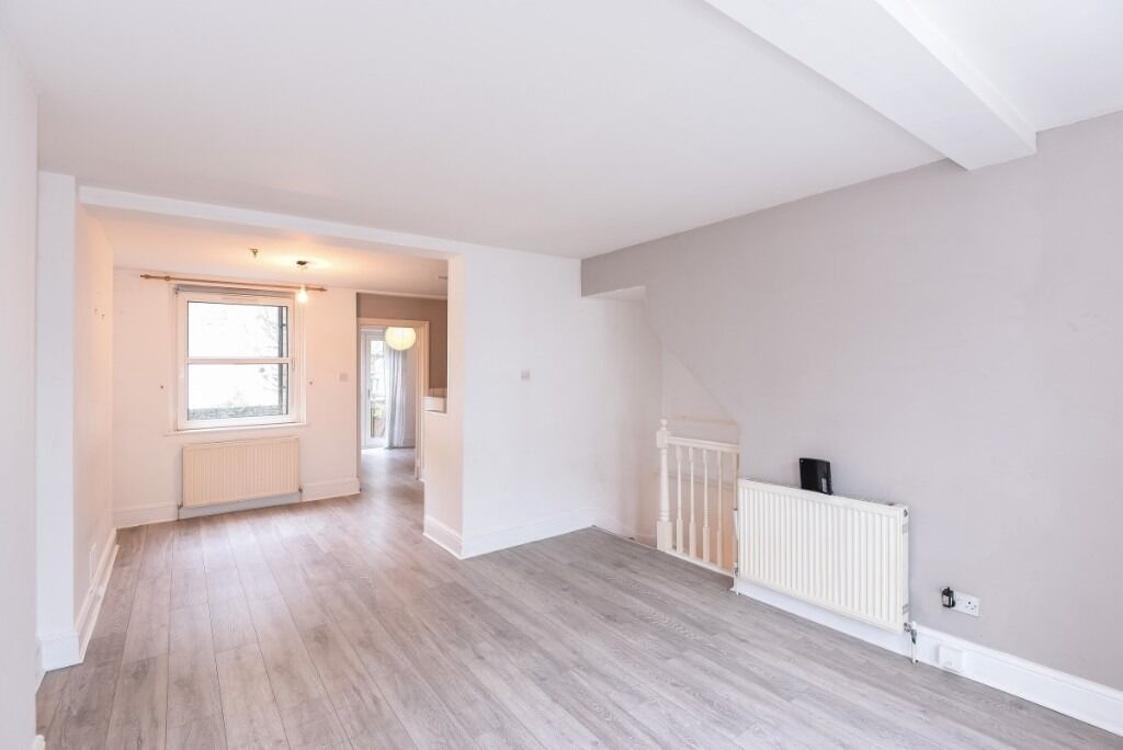 A charming two bedroom garden flat, arranged over two floors, Kilmaine Road SW6