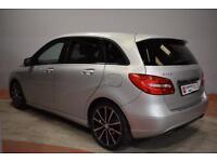 MERCEDES-BENZ B CLASS B180 1.8 CDI BLUEEFFICIENCY SPORT 5 Door Hatchback (silver) 2012