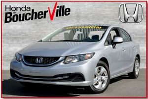2013 Honda Civic LX Bluetooth  Bancs chauffants