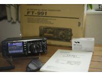 Yaesu FT991 Transceiver 100 watt Amateur Ham Radio Yeasu FT-991 Transciever for sale  Southville, Bristol
