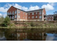 Stunning west end 3 bedroom canalside apartment situated on the outskirts of Bearsden