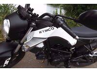Kymco kpipe k pipe 50cc Geared Motorbike/Moped