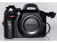 Nikon D3300 24.2MP DSLR Camera Body - Excellent Condition, 3425 shutter count