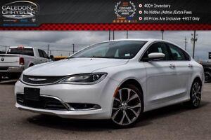 2016 Chrysler 200 C|Navi|Pano Sunroof|Backup Cam|Bluetooth|R- St