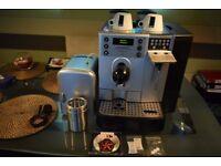 COMMERCIAL CAFE SWISS CS100 bean to cup COFFEE MACHINE + Milk Fridge 03