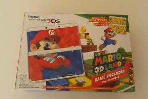 *****NEW NINTENDO 3DS SUPER MARIO 3D LAND EDITION IN THE BOX + MANY GAMES AVAILABLE*****