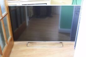 "panasonic viera smart tv 42"" broken screen"