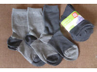 Kids' grey socks (NEW)