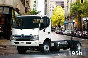 2019 Hino 195 Hybrid Class 5 - GVW of 19,500 lbs / 8,850 kg