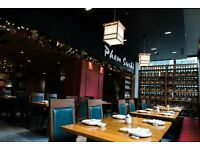 Manager required for Japanese restaurant