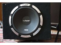 "VIBE SLICK S12 - 1200 Watts 12"" Inch 30cm Car Sub Bass Subwoofer Speaker"
