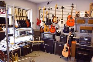 15% OFF ALL Guitars/Basses/Amps/Pedals/Music Gear - HBS- Hydrostone 3081 Gottingen St, Halifax