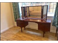 Dressing table and drawers