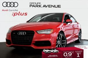 2016 Audi S3 2.0 TFSI PROGRESSIV ENS. OPTIQUE NOIR+NAVIGATION !