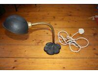 Art Deco Shell Lamp