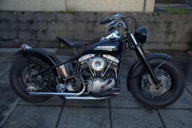 1966 Harley Davidson shovelhead stroker.