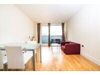 # Bright and spacious two bedroom two bath available now in Canary wharf!!