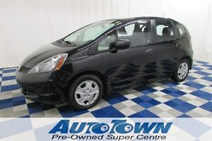 2013 Honda Fit DX-A/USB OUTLET/AC/LOW KM/ONE OWNER