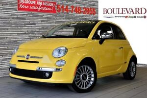 2016 Fiat 500 LOUNGE CUIR + TOIT PANO
