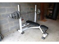 Olympic Size Weight Bench