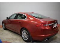 JAGUAR XF 2.7 PREMIUM LUXURY V6 4d AUTO 204 BHP (red) 2008