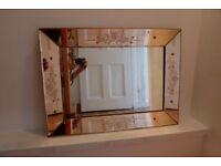 Exquisite 'Venetian Glass' Wall Mirror