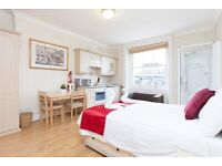 MODERN AND SPACIOUS BEDSIT APARTMENT IN BAKER STREET