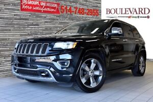 2015 Jeep Grand Cherokee OVERLAND 4X4 VUS V6 TOIT PANO CUIR