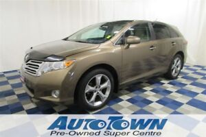 2011 Toyota Venza V6 AWD/ACCIDENT FREE/REAR CAM/SUNROOF/LEATHER