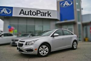 2016 Chevrolet Cruze Limited 1LT LOW KM|REAR CAM|BLUETOOTH