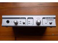 M-Audio Firewire Audiophile Interface Soundcard