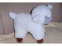 Cute Lamb Cuddly Toy, 7 inches high, Lots Of Other Cuddly Toys, Histon