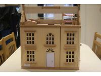 Wooden Dolls House plus **Price Drop**