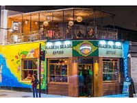 Assistant manager needed for a busy Brazilian Restaurant & Cocktail bar in Camden Town