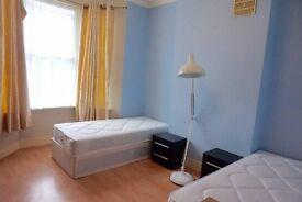Beautiful twin room in Homerton, Hackney. 2 weeks deposit!!