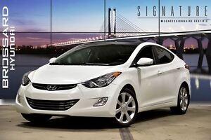 2013 Hyundai Elantra Limited CUIR TOIT OUVRANT MAGS BLUETOOTH