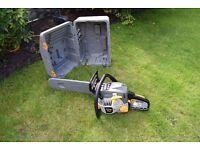 ryobi petrol 2 stroke chainsaw in box