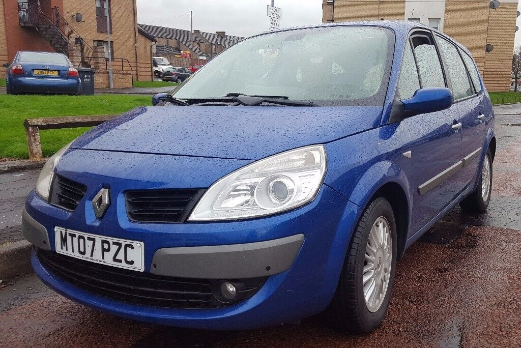 Renault G Scenic Automatic 5 Seater 2007