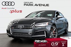 2018 Audi S5 Sportback 3.0 TFSI PROGRESSIV ENS. AIDE À LA CONDUI